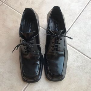 Via Spiga real leather oxfords size 6 US